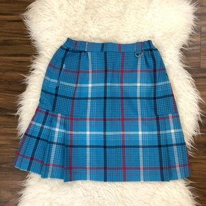 Authentic Christian Dior Plaid Skirt